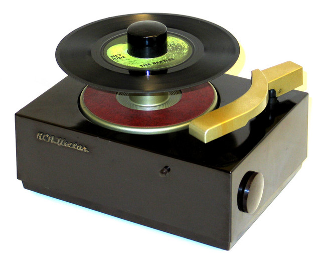 how to play a 45 without an adapter