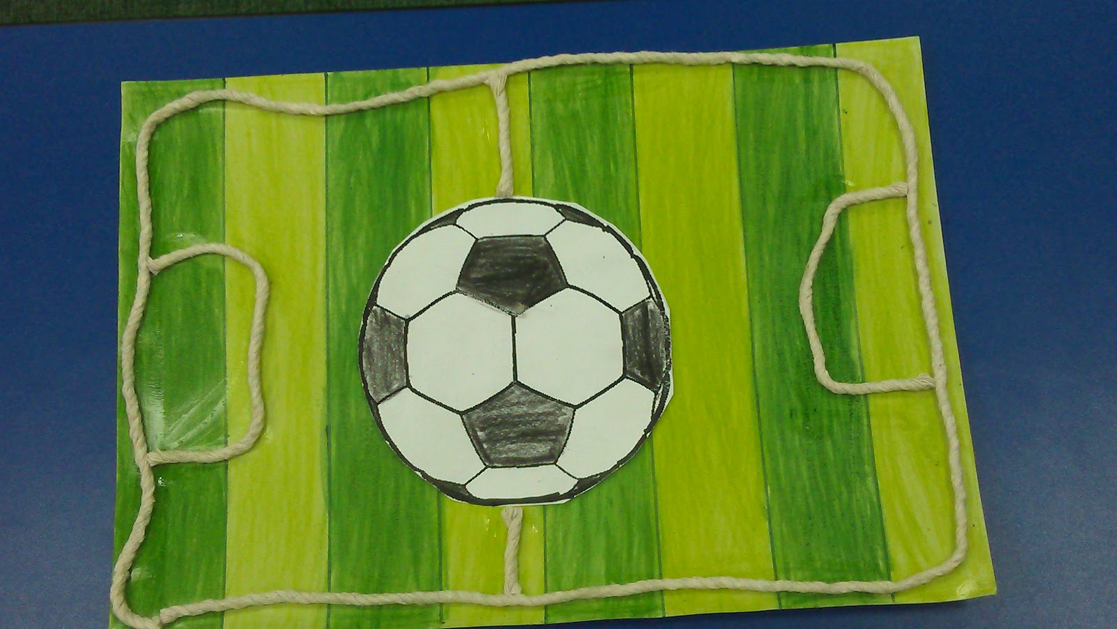 Art craft fathers 39 day tulip indah preschool for Football crafts for preschoolers