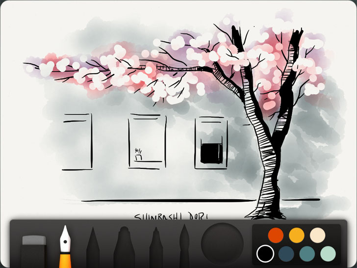 Paper Free App Game By FiftyThree