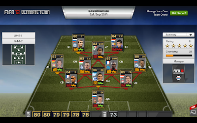 TOTW 39 Players - FIFA 12 Ultimate Team - Team of the Week