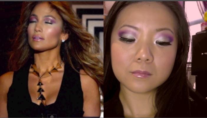 Jennifer Lopez Dance Again Ft Pitbull Makeup Tutorial