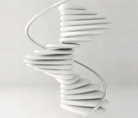 Staircase with shape spiral design design modern home for Spiral stair design