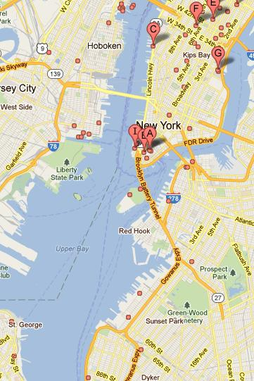 New York Harbour Map Related Keywords Amp Suggestions  New