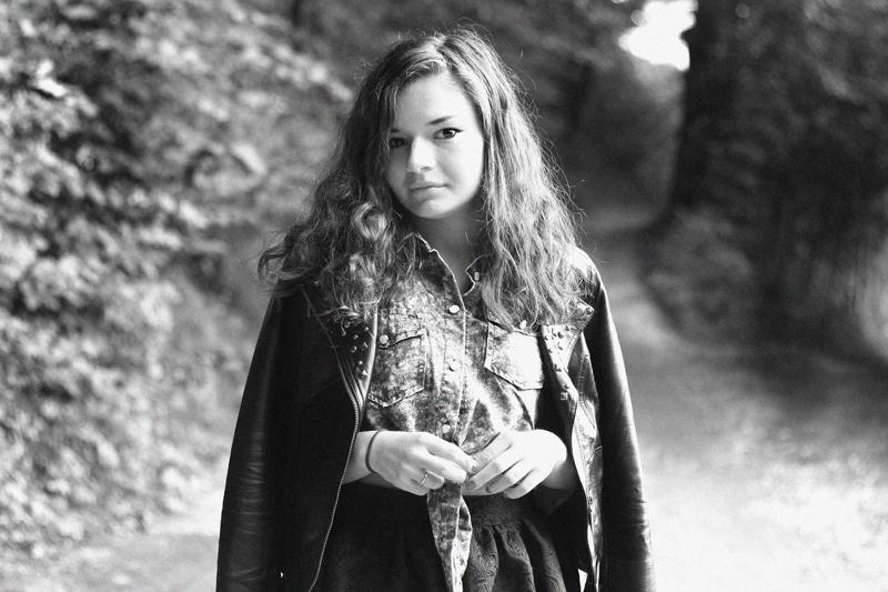 czarno biala retro fotografia