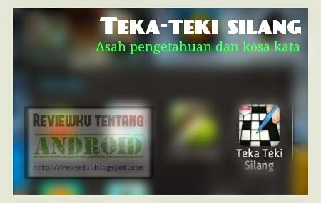 Ikon permainan android - Teka teki silang bahasa indonesia - Bermain sambil asah otak (rev-all.blogspot.com)