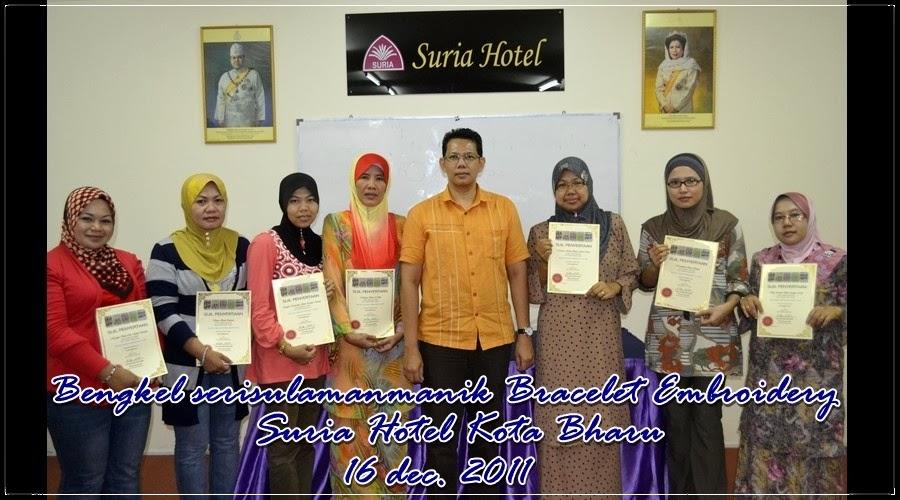 Bengkel Jahitan Manik di Suria Hotel Kelantan