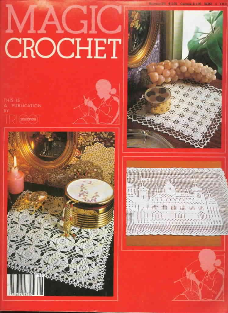 Magic Crochet : Magic Crochet No. 26 ~ Free Crochet Patterns