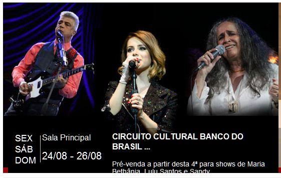 Circuito Banco Do Brasil : Circuito cultural banco do brasil no tca salvador