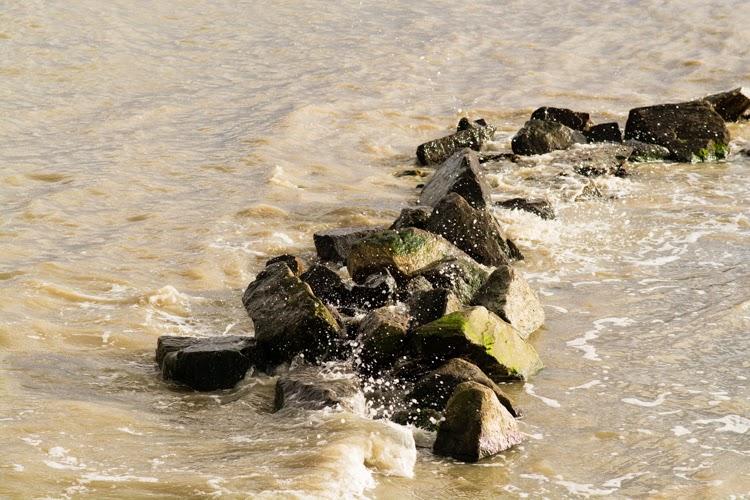 noirmoutier, ile de noirmoutier, mer, océan, plage, gois, marée haute, marée
