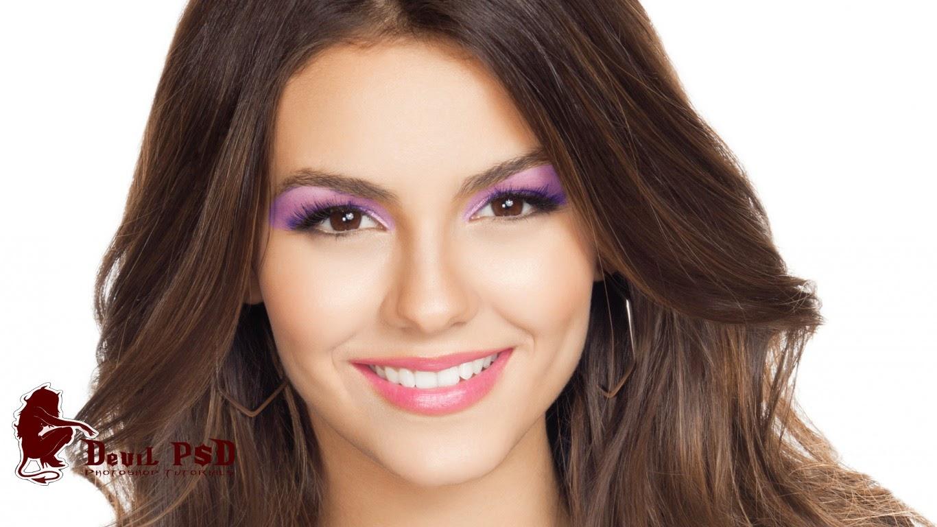 victoria justice digital makeup