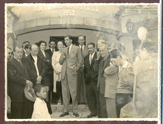 Em 1952, a inauguração da Escola Municipal Antônio Santiago