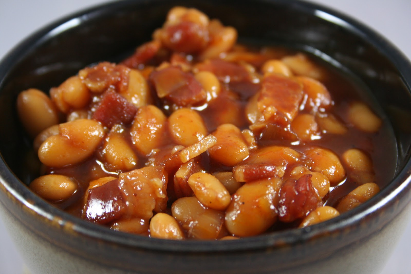 "Barbecue ""Baked"" Beans Recipe — Dishmaps"