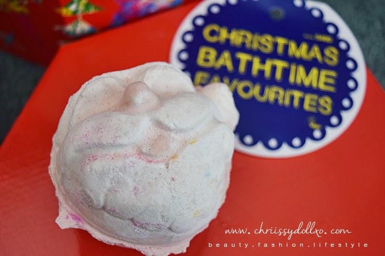 Lush Cosmetics : Father Christmas Bath Bomb Demo and Review