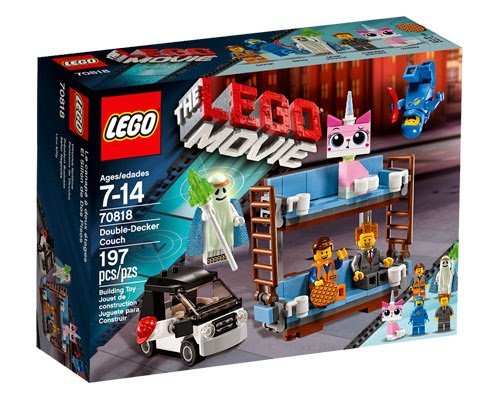 the lego movie double decker couch set