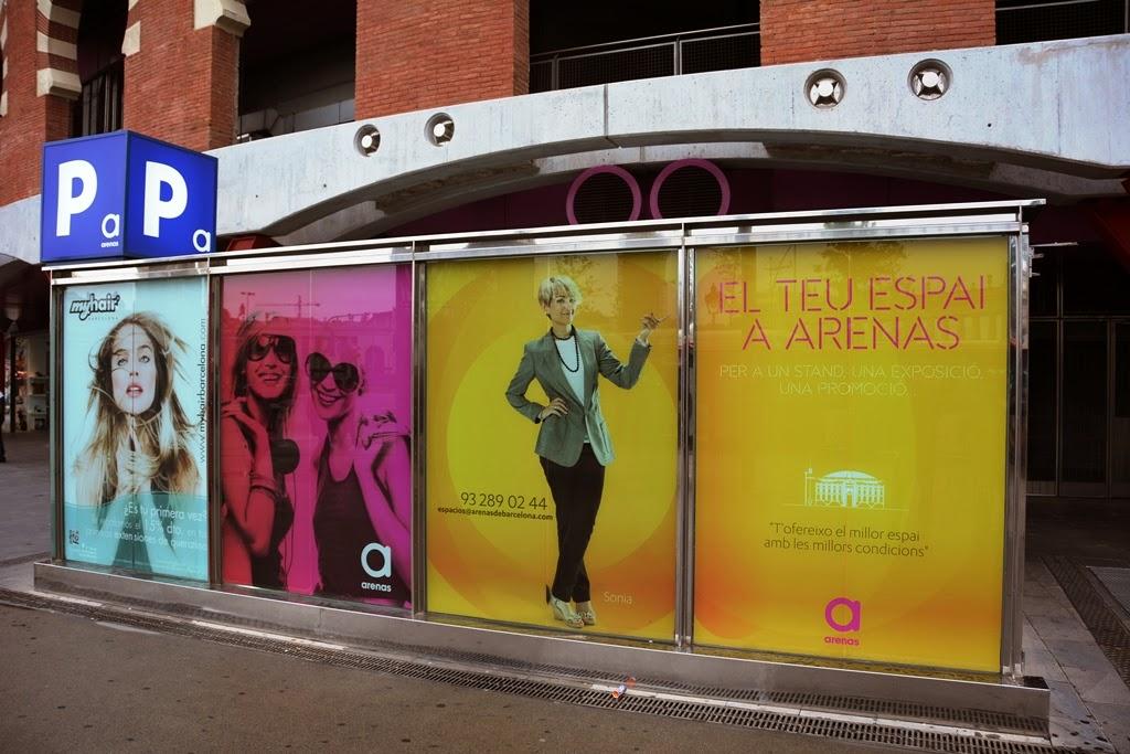 Arenas de Barcelona publicity