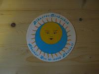 Trosse-Sonne auf Bierdeckel - zum vergrößern bitte anklicken