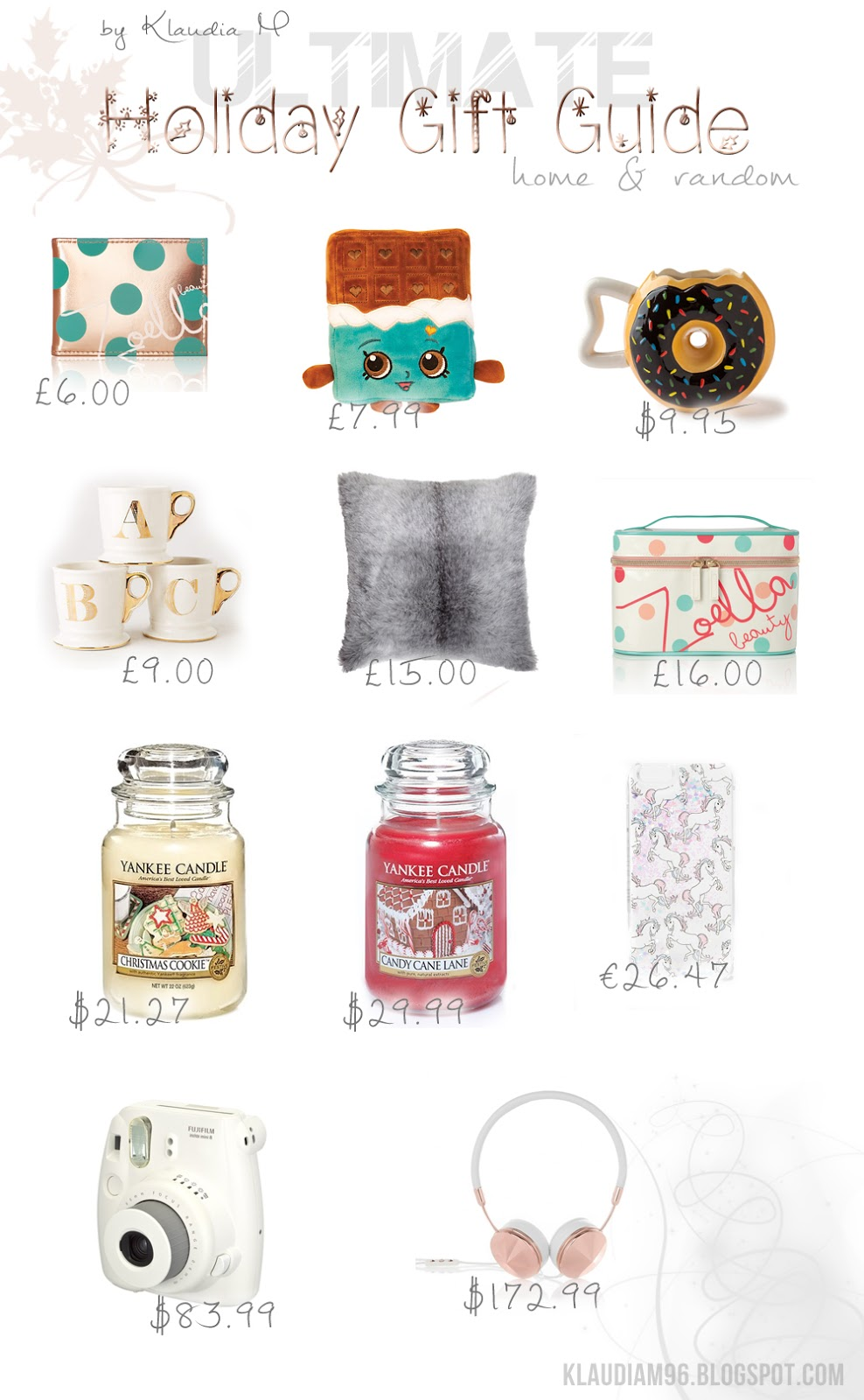 holiday gift guide home random 2015