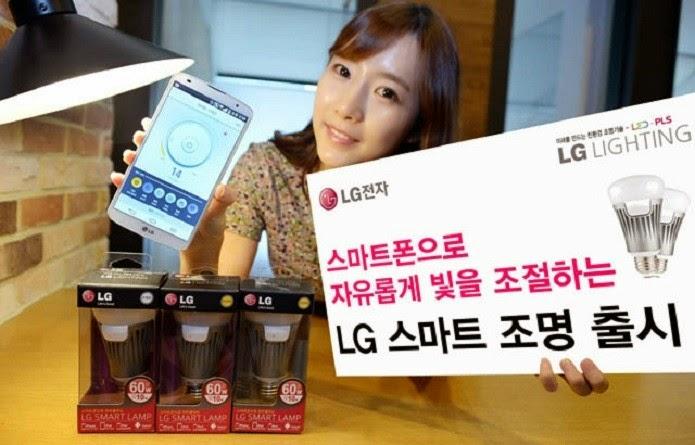 LG anuncia lâmpada inteligente integrada com apps para Android e IOS