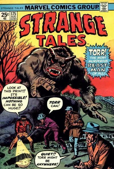 Strange Tales #175, Torr