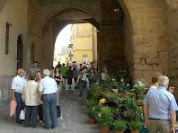El portal del Portalet des de la Fira de Baix. Autor: Francesc (Manresa)