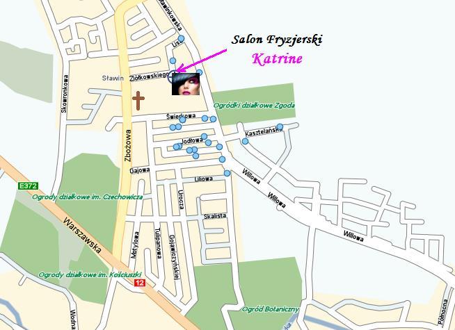 Salon Fryzjerski Katrine Lublin Oferta Salonu Fryzjerskiego Katrine