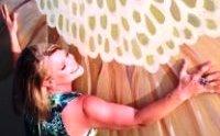 Becca's Flower Mural Pic