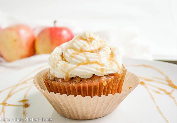 apple pie cupakes