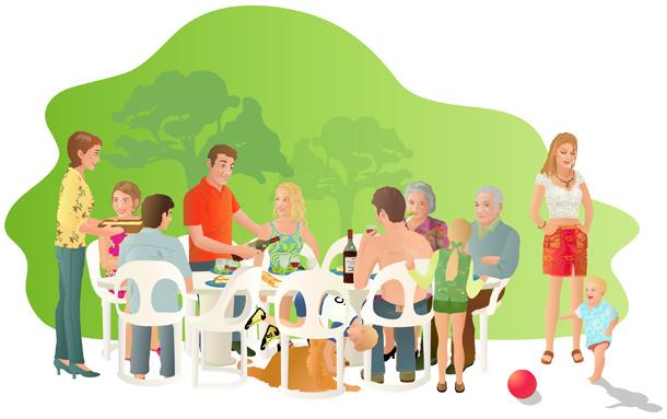 L 39 union en famille for Idee repas convivial en famille