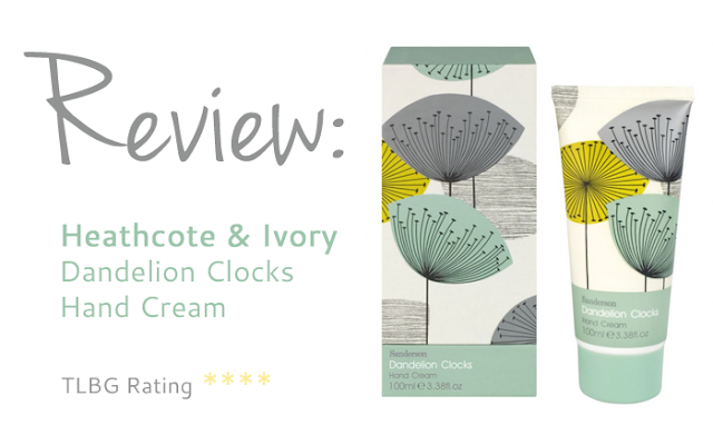 Review: Dandelion Clocks Hand Cream