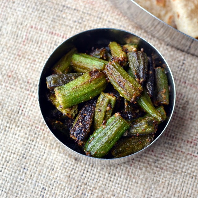 Gujarati Bhindi nu Shaak