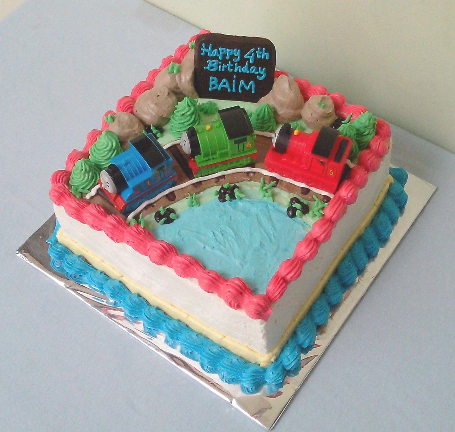 Thomas The Train Cake From Shoprite