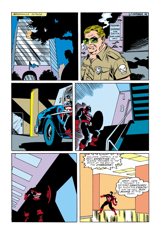 Captain America (1968) Issue #350 #282 - English 24