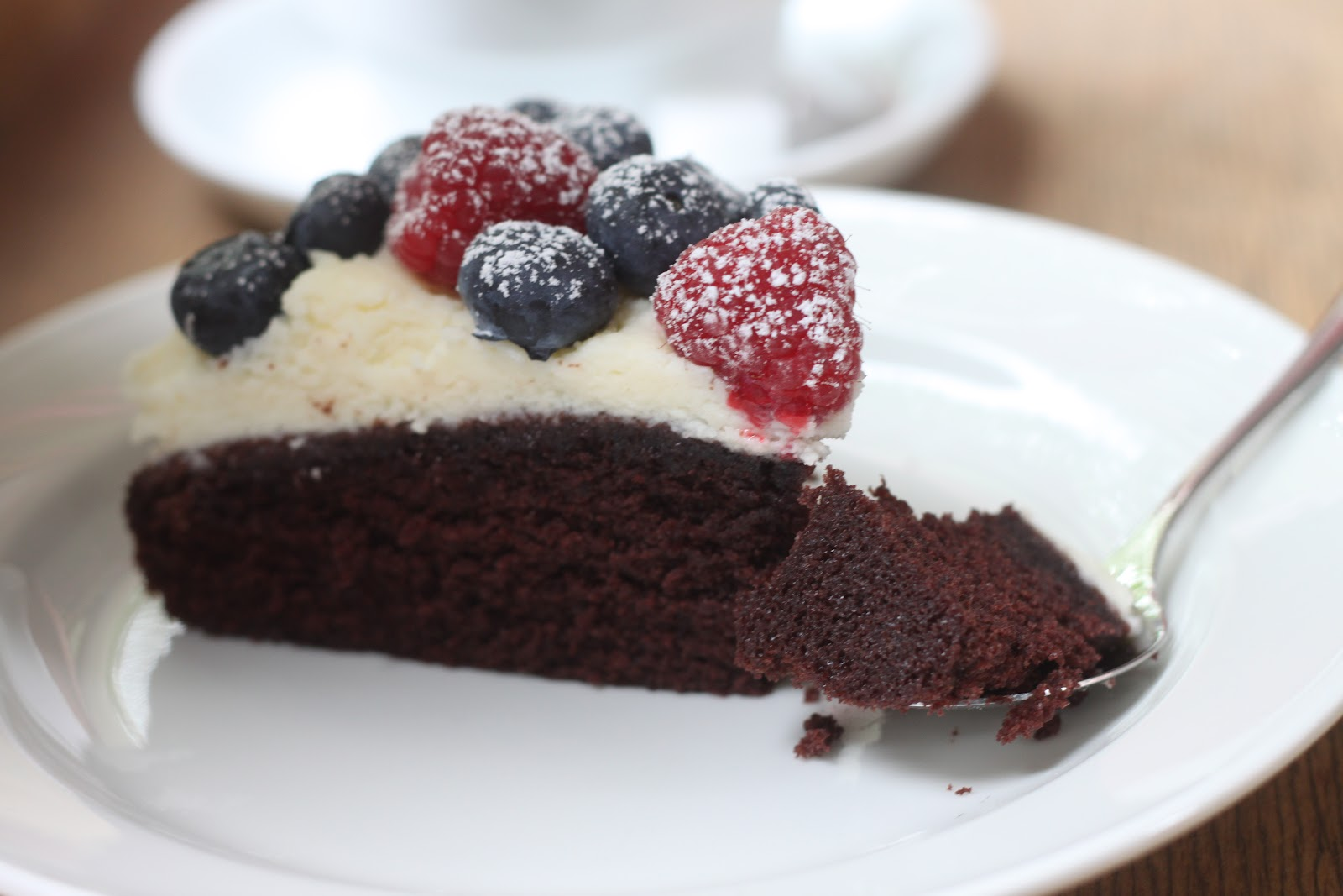 ... Mother's Day Dessert 2 - Chocolate Torte with Raspberry and Blueberry