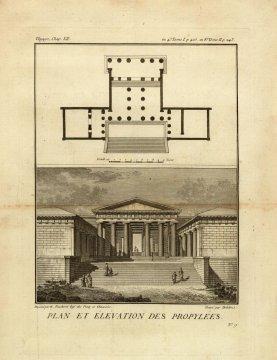 CARTES GEOGRARHIQUES DE L' ANCIENNE GRECE. AU VOYAGE DU JEUNE ANACHARSIS, 1789
