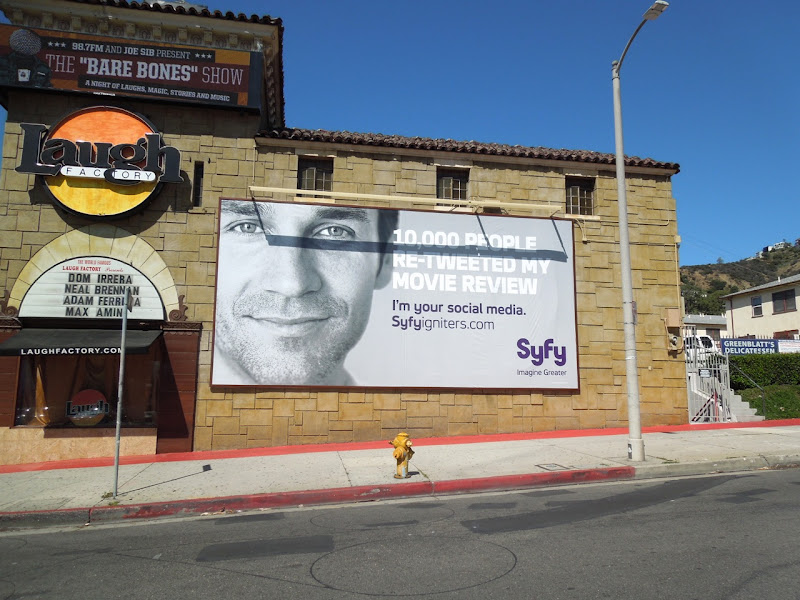 retweeted review Syfy Igniters billboard