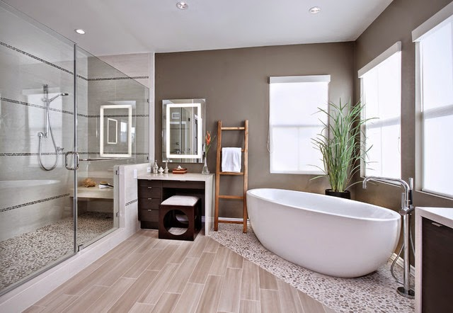 Salle de bain moderne design for Photos decoration salle de bain moderne