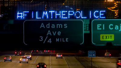 #FILMTHEPOLICE October 22nd Overpass Light Brigade