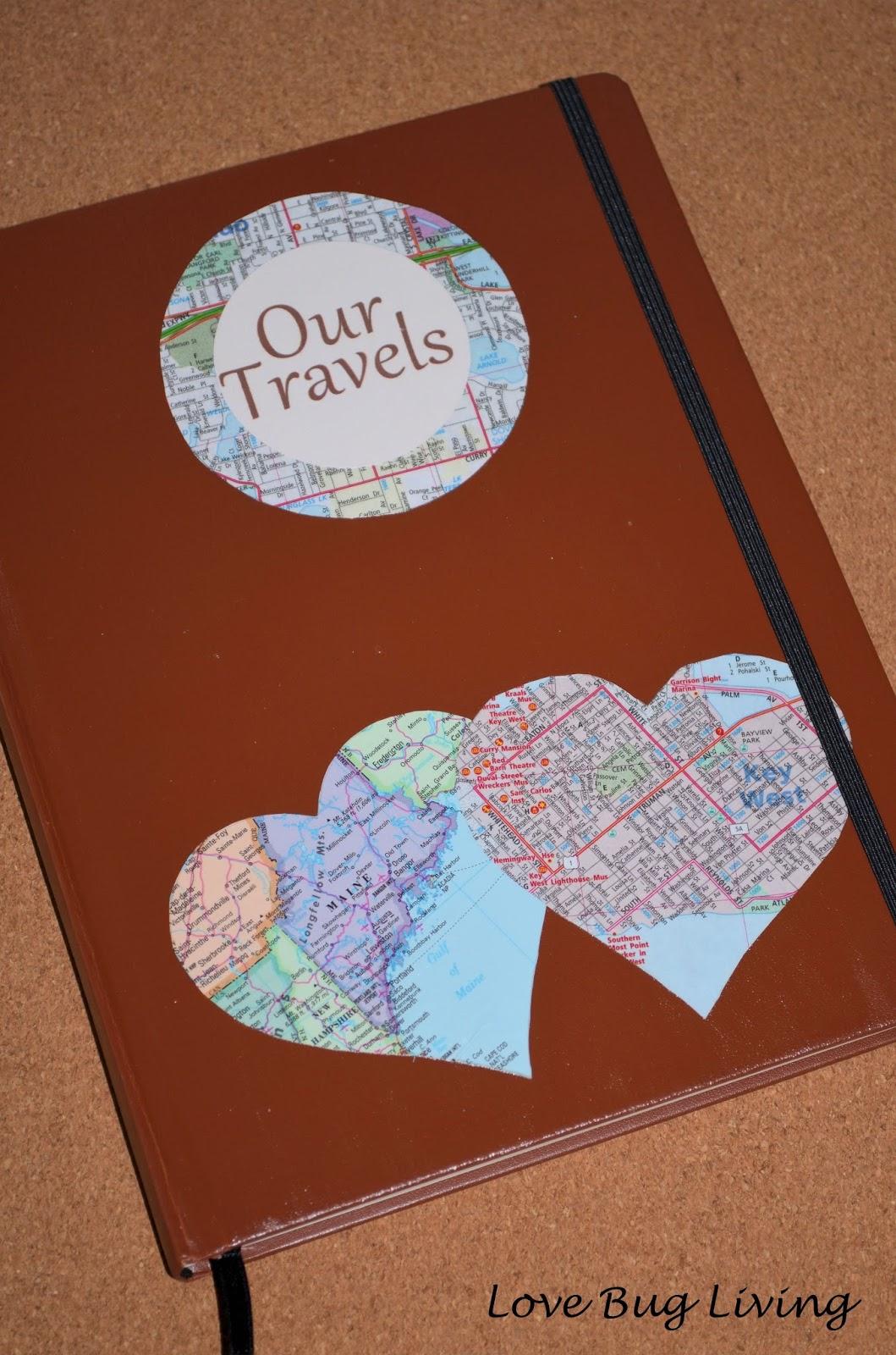 Love Bug Living Honeymoon Travel Journal Gift