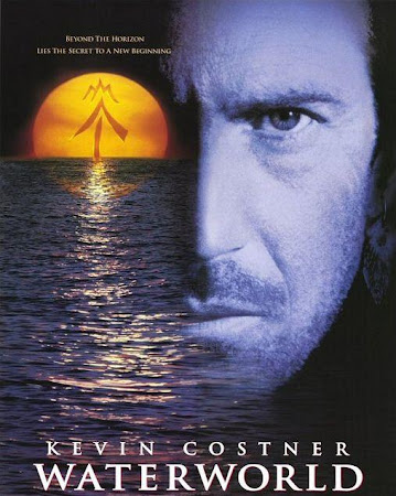 Poster Of Waterworld 1995 In Hindi Bluray 720P Free Download