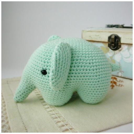 Uncinetto Amigurumi Elefante : Pitusas & Petetes: Elefante Amigurumi {FREE PATTERN}
