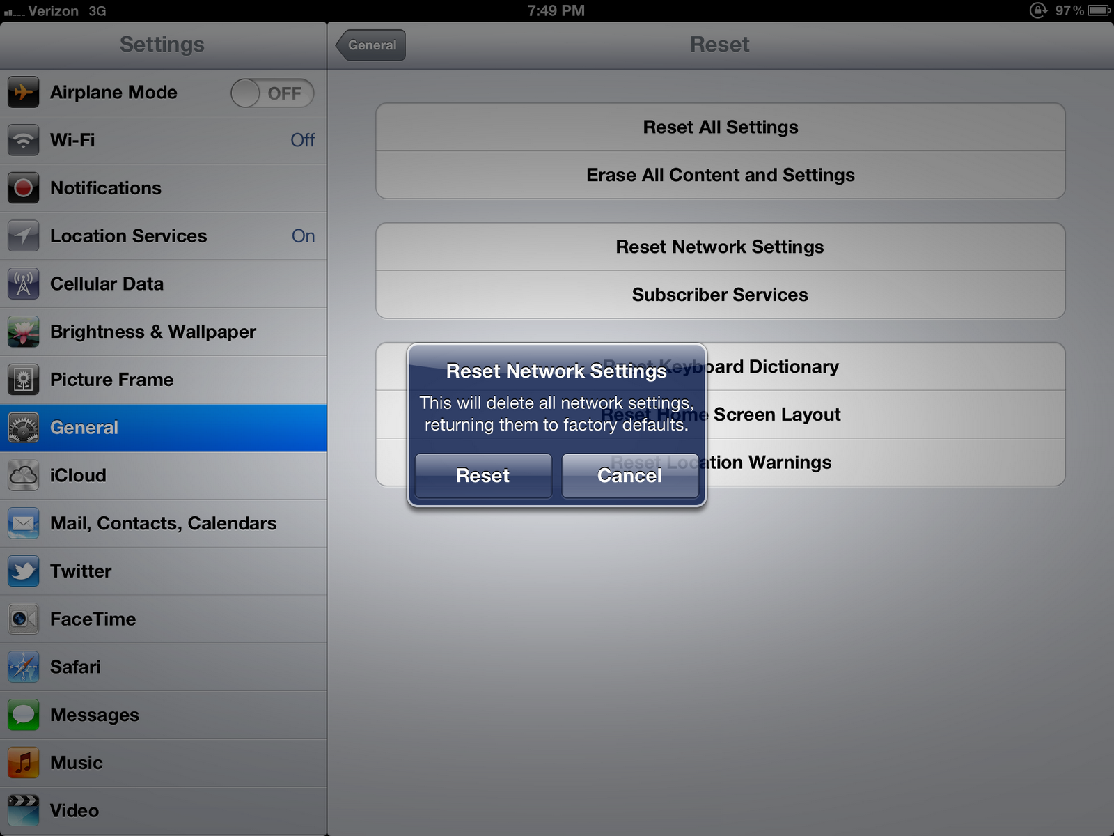 how to use the find command on ipad
