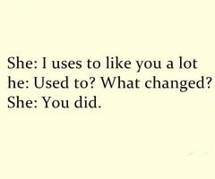 No te echo de menos ati, echo de menos la persona que pensé que eras.