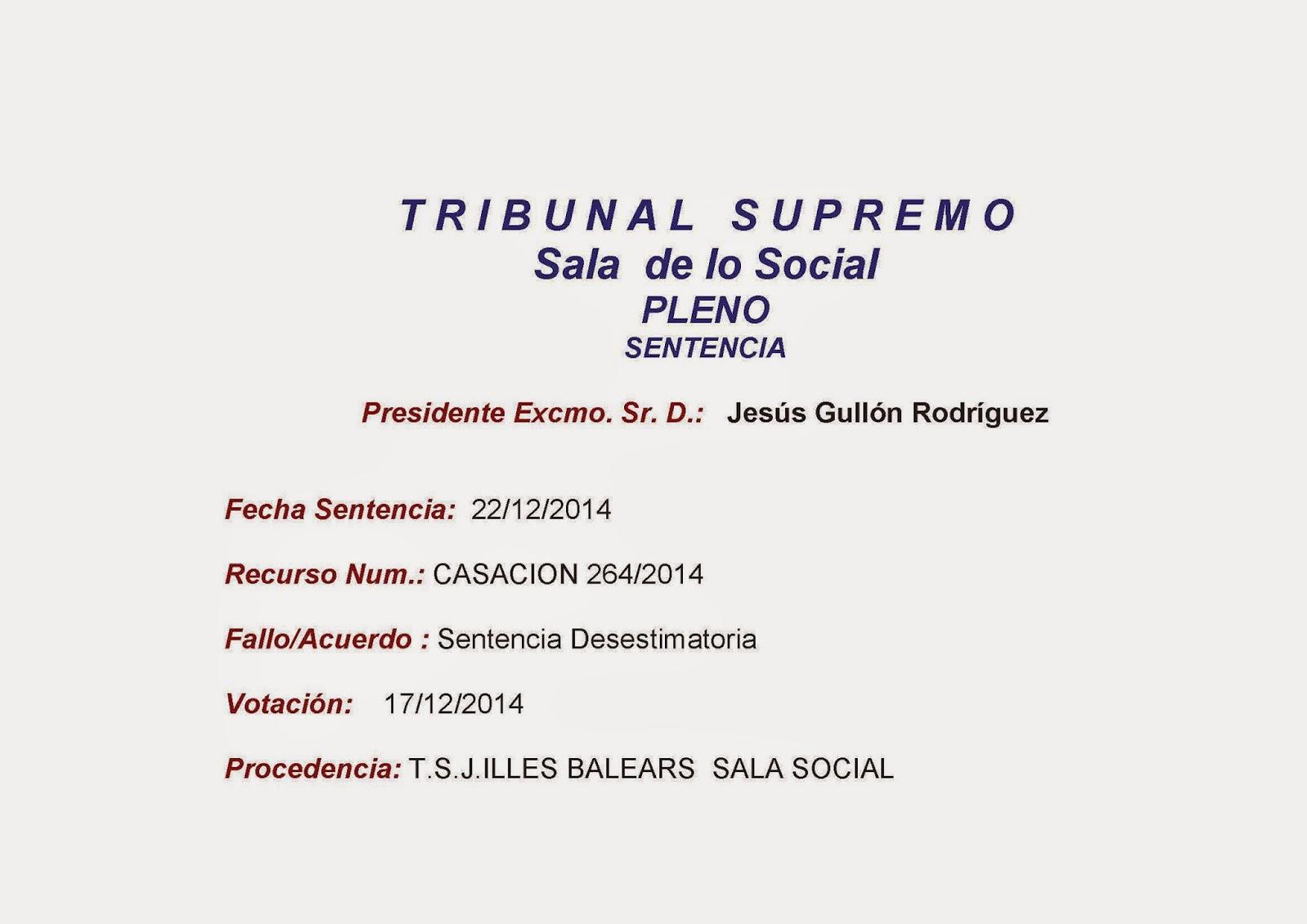 Administracion local fsp jaen sentencia sala tribunal for Sala 4 tribunal supremo