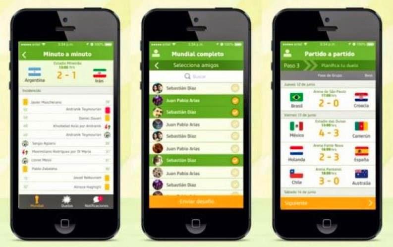 aplicaciones para ver el mundial