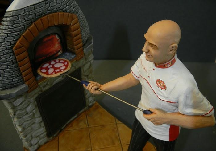 statuine personalizzate realistiche somiglianti cake topper orme magiche