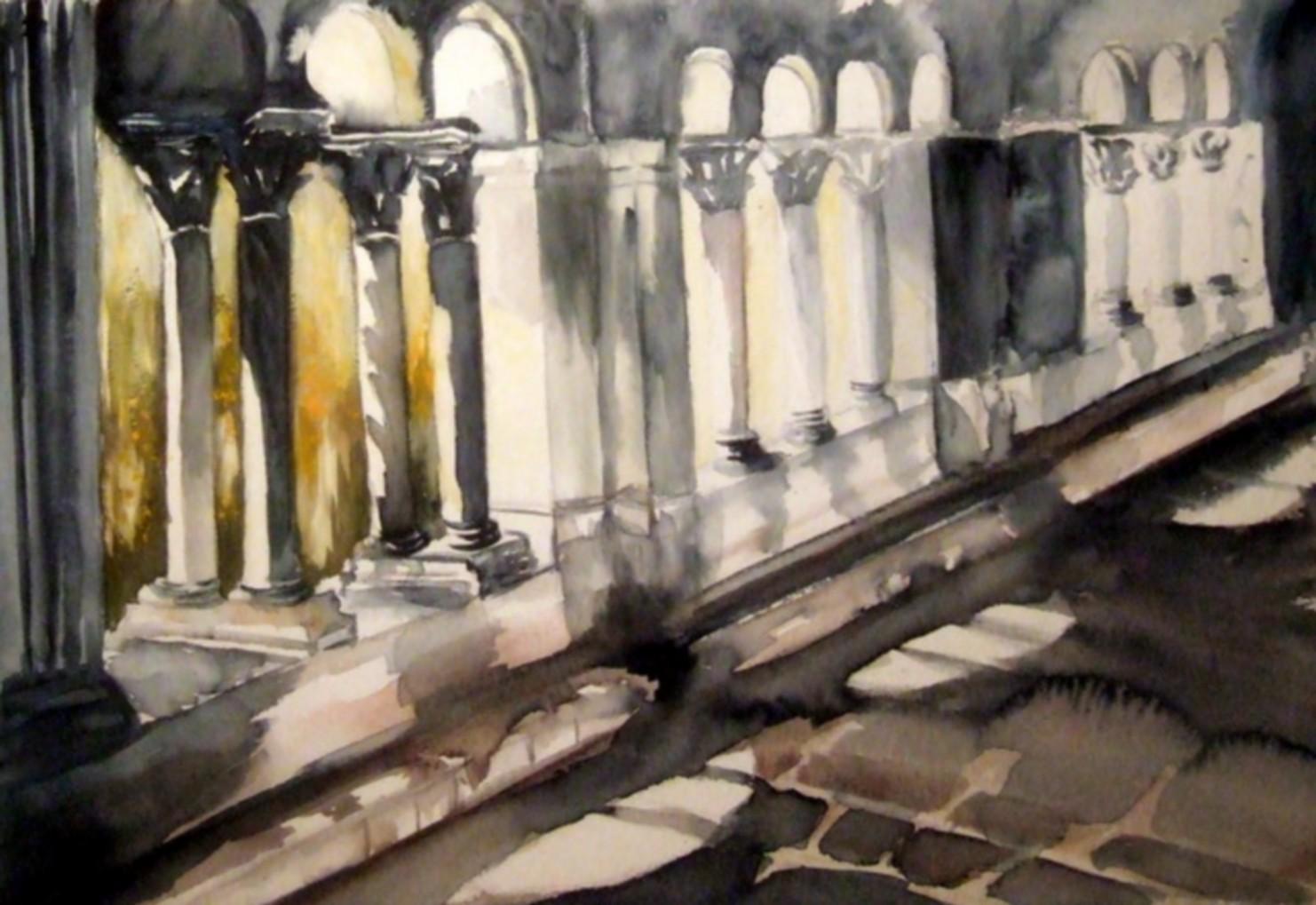 Dominique le journal d 39 une peintre au fil du temps abbaye de senanque - Le journal le vaucluse ...