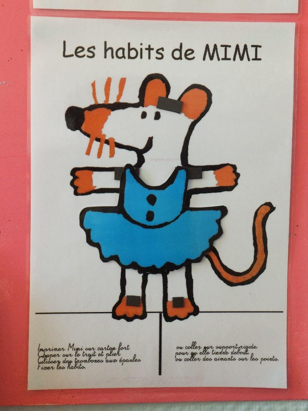 Les petits de sophie notre mascotte mimi la souris - Le blog de mimi ...