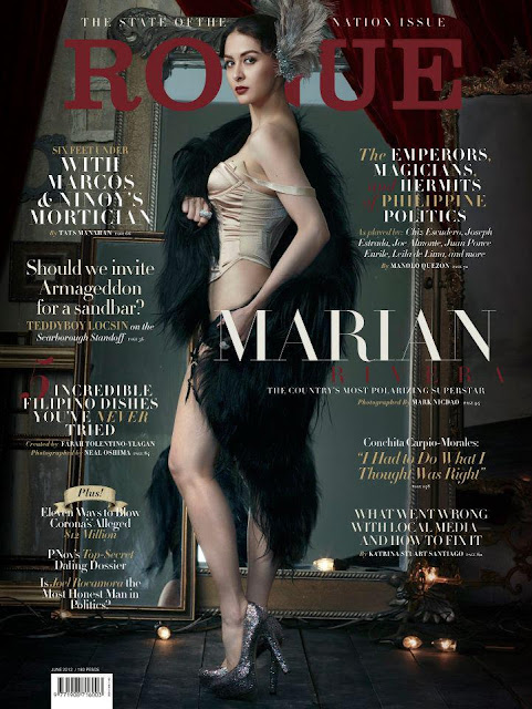 Marian Rivera Bold in Rogue June 2012 Issue
