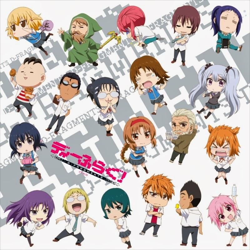 D Frag Anime Characters : D frag anime cosplay beyond