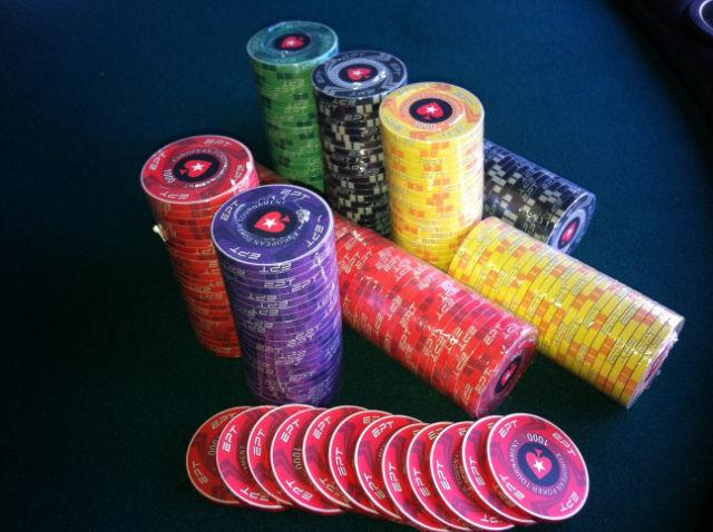 Volcom poker chips
